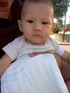D at 4 months